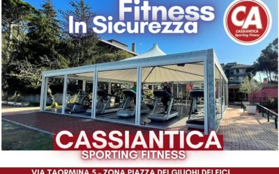 Fitness in sicurezza !!!